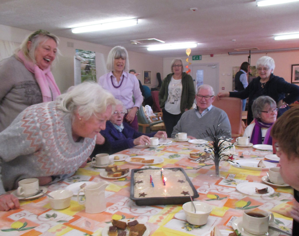 Celebrating a Birthday at Shankill Daycare Centre